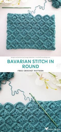 Beau Crochet, Stitch Crochet, Crochet Motifs, Crochet Stitches Patterns, Knitting Patterns, Crochet Blanket Stitches, Free Crochet Blanket Patterns, Different Crochet Stitches, Cross Stitches