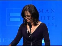 Sally Field speaks about her gay son while accepting HRC's Ally for Equality Award - YouTube