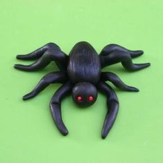 How To Make A Fondant Spider