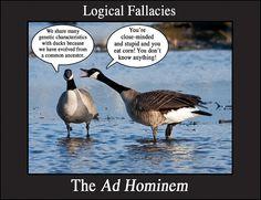 Hominem Fallacy