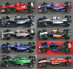 2014 F1 Design