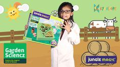 Jungle Magic Garden Sciencz: Grow Your Garden, Grow Your Learning Latest Kids Toys, Good Books, Books To Read, Educational Games, Free Kindle Books, Book Lists, Learning Activities, Book Lovers, I Am Awesome