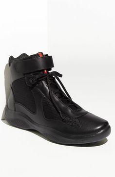Prada  America s Cup  High Top Sneaker (Men)  b8564f39e