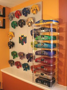 My N64 system/controller display - Imgur
