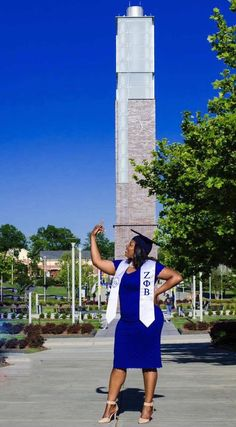 Congratulations to Soror Tamera Russell for graduating with a B.A. in Speech Language Pathology from North Carolina A&T State University! She has accepted a position at Carter G. Woodson School as a speech pathologist and will start this upcoming school year! Congrats Soror! We are proud of you!   #RealZetas