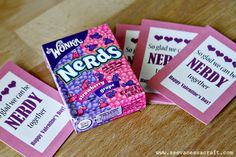 Nerds Candy Valentine Printable