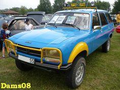 Rallye Paris Dakar, Peugeot 504, Rallye Raid, Crossover Suv, France, Sport, Vintage Cars, 4x4, Monster Trucks