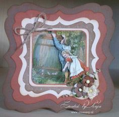 Ot en sien Frame, Home Decor, Cards, Picture Frame, Decoration Home, Room Decor, Frames, Hoop, Interior Decorating