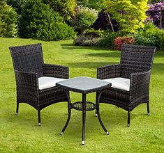 Rattan 2 Seater Bistro Garden Patio Conservatory Set | Rattan, Patios And  Gardens
