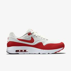 6511c6e0da Official Nike Air Max 1 Ultra Moire 705297 106 Summit White Challenge Red  White Nike Air Max 1 On Line