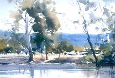David Taylor watercolor painting