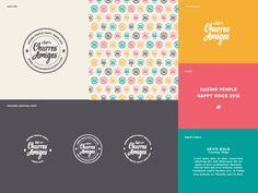 Los Churros Amigos by The Orca Design Co.