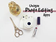 9 Unique Photo Editing Apps
