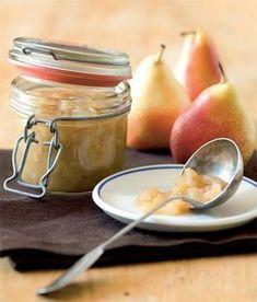 Voňavá hrušková povidla recept příprava - ApetitOnline.cz Marmalade, Kimchi, Preserves, Cantaloupe, Sweets, Canning, Vegetables, Fruit, Recipes