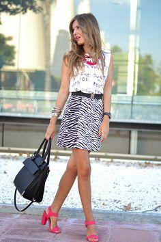 BOHO NECKLACE 16-7-2014  Camiseta / T-Shirt: Choies (S/S 14) Falda / Skirt: Zara (S/S 14) Sandalias / Sandals: Primark (S/S 14)
