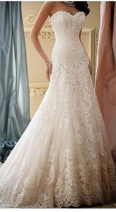 David Tutera wedding lace is everything