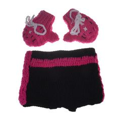 Boxing Outfit Newborn Photo Props