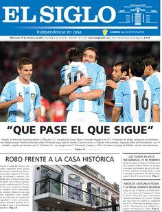 Diario El Siglo - Miércoles 17 de Octubre de 20 12