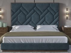 Bedroom Bed Wall Design Headboards 68 Ideas For 2019 Luxury Bedroom Design, Bedroom Bed Design, Bedroom Furniture Design, Home Room Design, Bed Furniture, Home Decor Bedroom, Bed Headboard Design, Headboards For Beds, Wood And Upholstered Bed