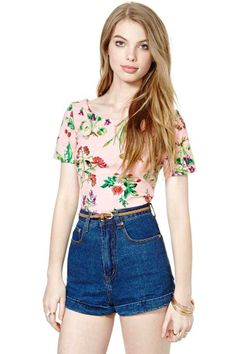 Betsey Johnson Wild Strawberry Top