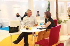 Celine Junius Gombert (Comexposium) et Pierre Cappelli (LTD)  - La Team Digitale #ECP14