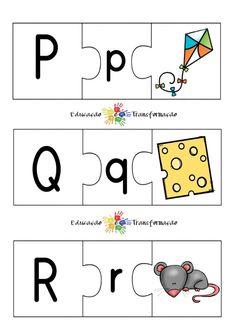 Blog Educação e Transformação: 👍 Alfabeto: quebra-cabeça Comics, Blog, Alphabet Games, Cursive Alphabet, First Year, Group, Lyrics, Comic Book, Cartoons
