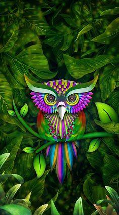 Diamond Painting – Page 61 – diamondpaintinggifts Owl Wallpaper, Animal Wallpaper, Iphone Wallpaper, Owl Artwork, Owl Cartoon, Owl Pictures, Beautiful Owl, Cartoon Background, Horned Owl