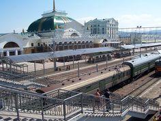 Krasnoyarsk railway station - Transiberiano -