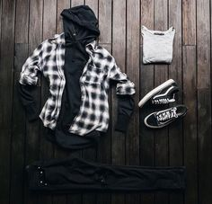 men's fashion style outfit and outfit grids inspirations style grid for men fashion for men Grid Hoodie men's fashion grey men's adidas sneackers outfit with style Vans Outfit Men, Swag Outfits Men, Stylish Mens Outfits, Mode Outfits, Casual Outfits, Men Casual, Fashion Outfits, Fashion Styles, Hype Clothing