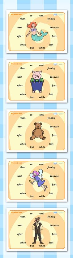 Twinkl Resources >> Connectives Word Mats >> Printable resources for Primary, EYFS, KS1 and SEN. Thousands of classroom displays and teaching aids! Literacy. English, Word Mats, Connectives