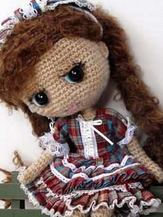 Crochet Blythe by ladynoir63 - like the face style