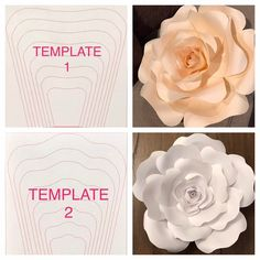 Hi everyone! 💗🙋🏻 Are you a DIY kind of gal? Well now YOU can create your own paper flowers with Bloom Paper Artistry's template 🌸❗️To… 206 Likes, 4 Comments - Bloom No automatic alt text available. This Pin was discovered by Kel Discover Tissue Paper Flowers, Paper Flower Backdrop, Giant Paper Flowers, Diy Flowers, Diy Paper, Paper Crafts, Fleurs Diy, Flower Template, Flower Tutorial