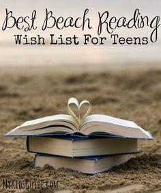 Best Beach Reading Wish List For Teens- Teen Entertainment