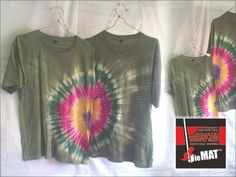 The couple )jaVV a sarimbit( to green LETHEG. the mode tie-die CIRCLE.. the same LENGAN PENDEK.. size M / catoon.