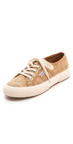 Superga Cotu Raffia Sneakers | SHOPBOP