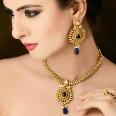 Indian Jewelry 2015 | Necklace And Earring Designs For Girls By Kaneesha