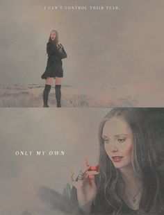 I can't control their fear. Only my own // SW