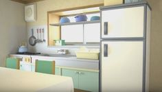Episode Interactive Backgrounds, Episode Backgrounds, Scenery Background, Background Drawing, Studio Ghibli Background, Casa Anime, Kitchen Background, Anime Places, Anime Scenery