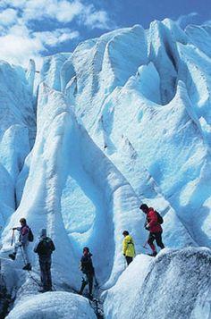 Short Blue Ice hike