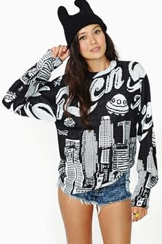 Shop the latest in fashion at Nasty Gal and be up-to-date with the newest trends you know you'll love. Ugly Sweater Party, Womens Fashion Online, Sweater Outfits, Alternative Fashion, Nasty Gal, Types Of Fashion Styles, Clothing Items, Autumn Fashion, Fashion Outfits