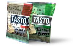 mexican food packaging | Tasto Potato Chips - Packaging by Roland Butcher