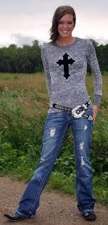 love the crosses on these clothes