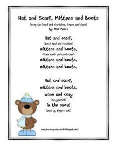 winter mitten poem