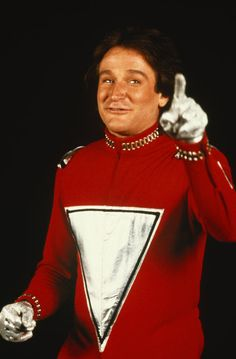 Mork from Ork...Mork and Mindy was my favorite show when i was little