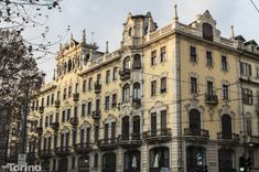 Palazzo Priotti #torino #architecture #liberty Art Nouveau Architecture, Turin, Belle Epoque, Liberty, Mystery, Environment, Exterior, Building, Places