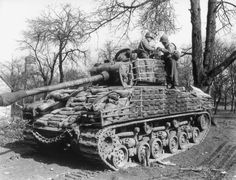 WWII - An upgraded Sherman with added and crated concrete AWA sand filled bags for added protection against the superior German guns Army Vehicles, Armored Vehicles, Motor Radial, Motor Diesel, Us Armor, Tank Armor, Sherman Tank, Ww2 Photos, Ww2 Pictures