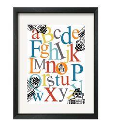 Robot ABC's Print