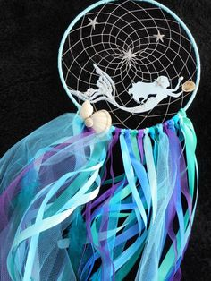 Mermaid dream catcher