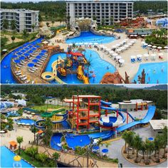 Phuket in Thailand: Kamala Beach & Water Parks Splash Jungle.