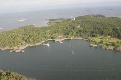 The old mining island Jussarö in Ekenäs archipelago in Raseborg, Finland